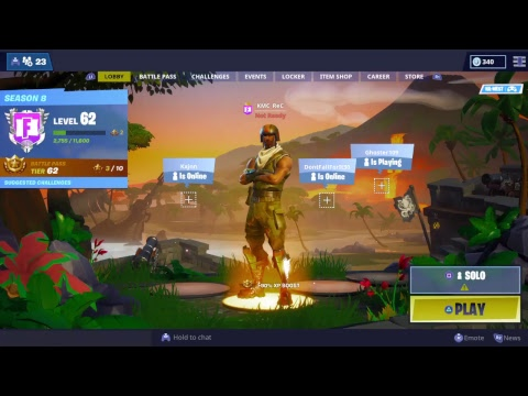 Fortnite Live|Ariel Assault Trooper|| Giveaway Soon