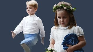 Princess Charlotte and Prince George stole the Show at yet another wedding
