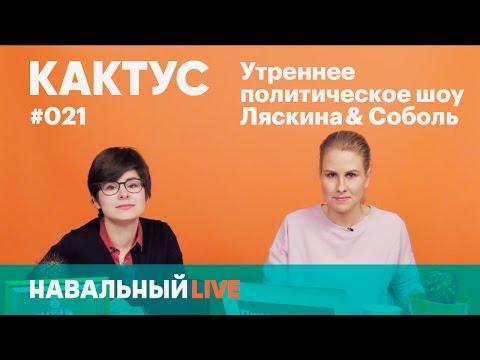 КАКТУС #021. Задержание Мальцева, ответ Навального Усманову, дебаты Путина и как устроены СМИиз YouTube · С высокой четкостью · Длительность: 1 час9 мин16 с  · Просмотры: более 182000 · отправлено: 12.04.2017 · кем отправлено: Навальный LIVE