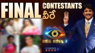 Bigg Boss 3 Telugu Final Contestants List Revealed | Aadhan Telugu