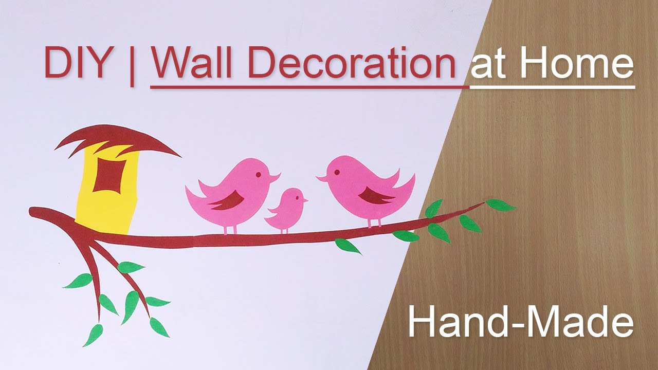 Wall handmade craft design at home in hindi youtube wall handmade craft design at home in hindi amipublicfo Images