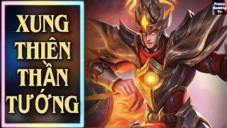 LIÊN QUÂN | Trải nghiệm Skin mới Volkath Xung Thiên Thần Tướng cùng FUNNY GAMING TV