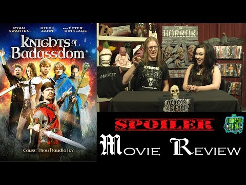 """Knights of Badassdom"" 2013 Horror Fantasy Movie Spoiler Review – The Horror Show"