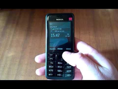 Nokia 301 видеообзор