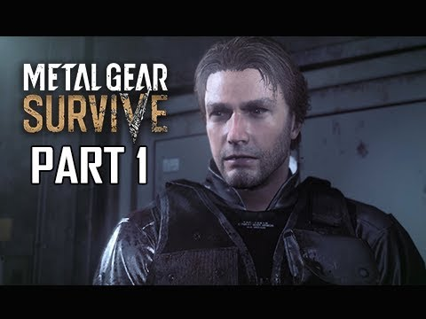 METAL GEAR SURVIVE Walkthrough Part 1 - ZOMBIES!!! (PS4 Pro 4K Let's Play)