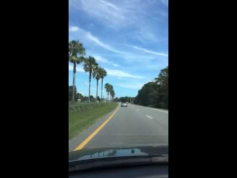 Driving through Ponte Vedra FL. We drove by TPC Sawgrass go
