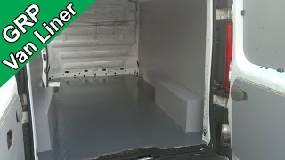 Fibreglass a Van or Truck Floor - GRP Bed Liner