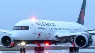 "Air Canada ""New Livery"" 787-8 (B788) departing Montreal (YUL/CYUL)"