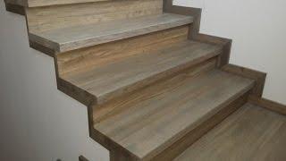 Лестница из дуба на бетоне через фанеру. 1 часть (обзор готовой лестницы)(, 2016-03-21T21:22:32.000Z)