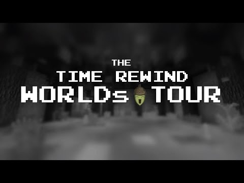 Time Rewind Worlds Tour : Hux Plays Minecraft - Last Three Worlds!