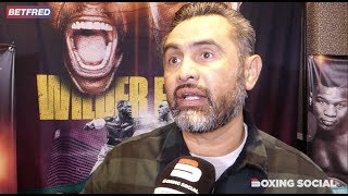 """""""I REGRET WHAT ANDY RUIZ SAID AFTER THE JOSHUA FIGHT!"""" MANNY ROBLES ON RUIZ SPLIT & WILDER-FURY 2"""