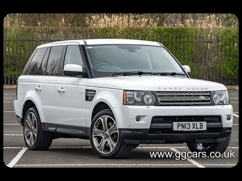 2013 13 land rover range rover sport 3 0 sdv6 hse black edition auto youtube. Black Bedroom Furniture Sets. Home Design Ideas