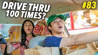 GOING TO THE SAME DRIVE THRU 100 TIMES?! | Ranz and Niana