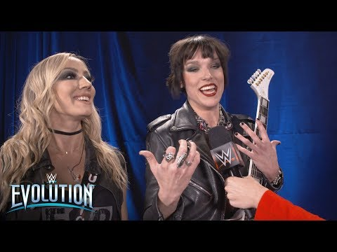 Lzzy Hale and Nita Strauss honored to be a part of history: WWE Exclusive, Oct 28, 2018