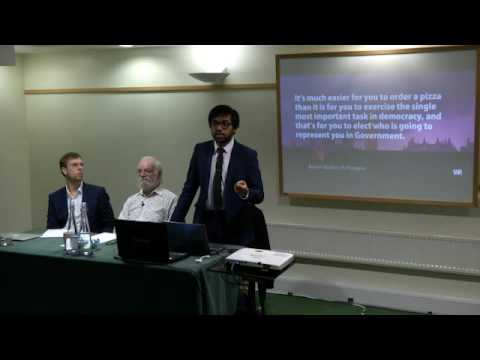 Digital Democracy, citizen engagement and the pros and cons of electronic voting