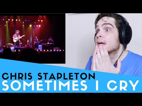 Voice Teacher Reacts to Chris Stapleton - Sometimes I Cry