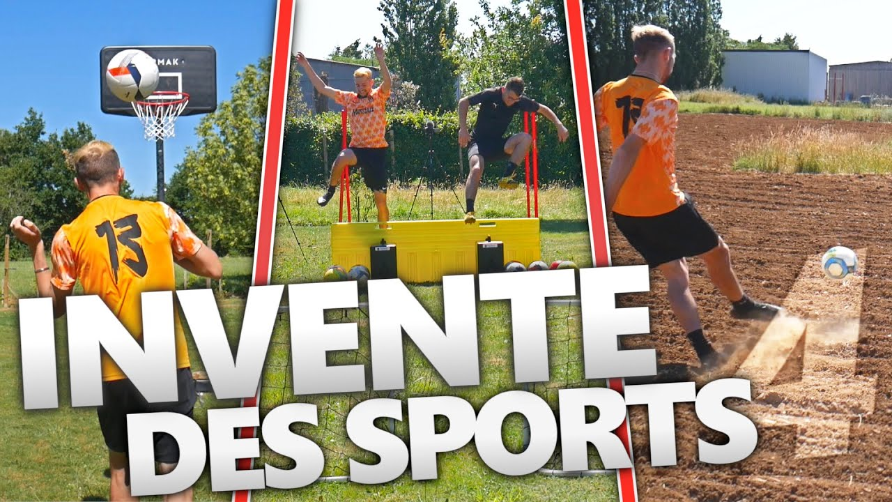 ON INVENTE DES SPORTS ! (EPISODE 4 AVEC @LEVY)