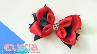 Laço Heloi Boutique 🎀 Heloi Boutique #Ribbon Bow 🎀 DIY by Elysia Handmade