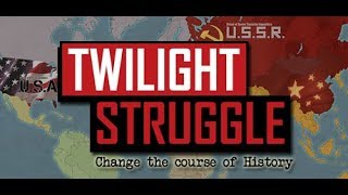 Let's Play: Twilight Struggle [Cold War Boardgame] - Part 1