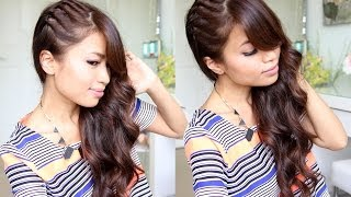 Twisted Side Swept Hairstyle feat. NuMe Lustrum Curling Wand Thumbnail