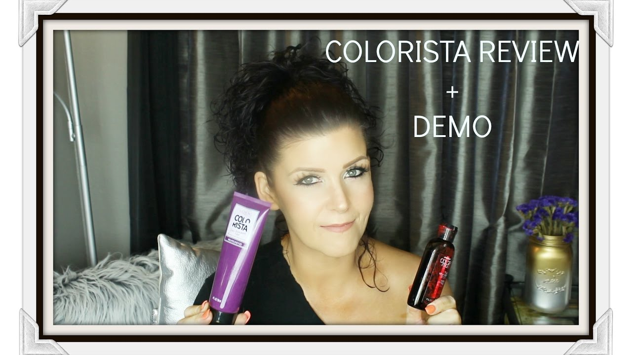 how to dye hair with colorista