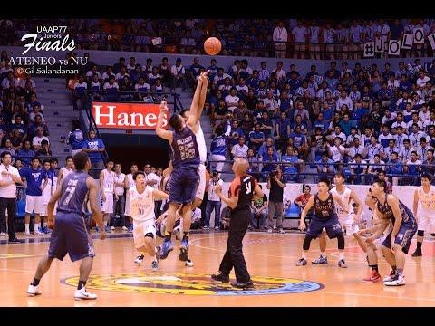 UAAP 77 juniors basketball Ateneo Blue Eaglets vs NU Bullpups finals game 3