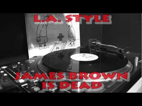 VINYL CLASSICS LA Style  James Brown Is Dead