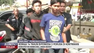 Gadis Usia 14 Tahun Diperkosa 2 Hari
