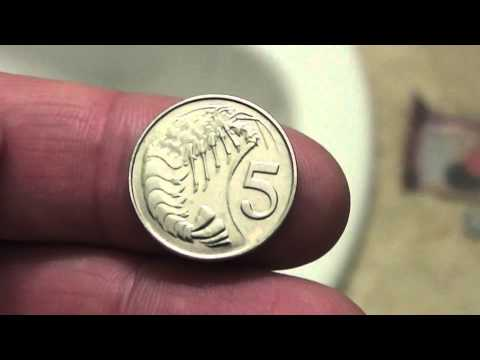 Cayman Islands 5 Cent Coin Review