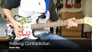 Walking Contradiction - Green Day (Guitar Cover)