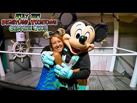 July 2019 Disneyland Toontown Complete Experience. All Rides & Attractions
