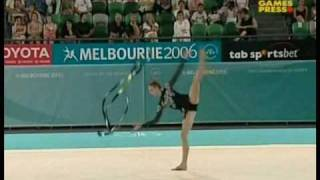 Melissa Logan 2006 Commonwealth Games All Around Ribbon