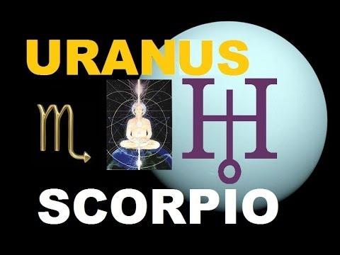 Uranus in Scorpio
