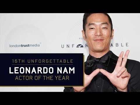 Leonardo Nam  Actor of the Year at the 16th Unforgettable Gala