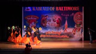 Kairali of Baltimore Christmas and New Years 2015- Poo Pookum Dance
