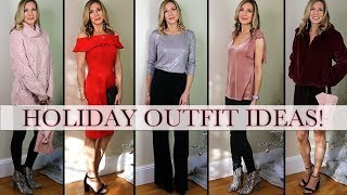 Fun + Festive Holiday Outfit Ideas! Lookbook Winter 2018