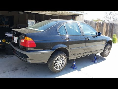 BMW E46 Project Car Maintenance: Air Filter and Transmission Fluid