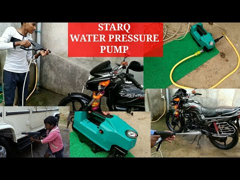 STARQ | High pressure washer || 1600w w2 || installation & review
