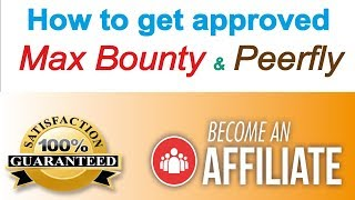 How to get maxbounty approval in hindi videos / InfiniTube