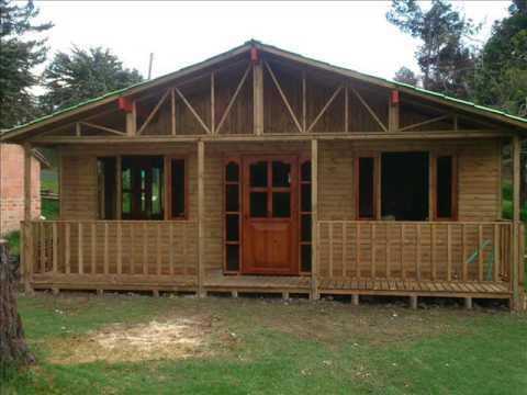 Fabricaci n de caba as kioscos y parques en madera youtube for Kioscos prefabricados de madera