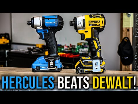 DeWALT (DCF887) Impact Driver IS DEFEATED By A Brushed HERCULES Impact Driver!