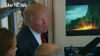 Trump hints at Assad action after 'gas attack'