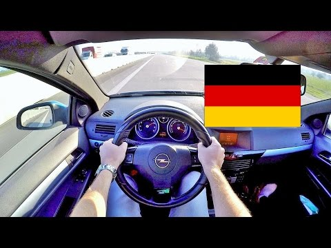 NORMAL DRIVING IN GERMAN HIGHWAY | OPEL...