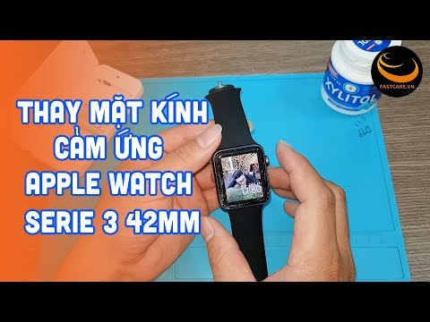 Thay mặt kính Apple Watch Serie 3 lấy ngay chỉ từ 150 phút