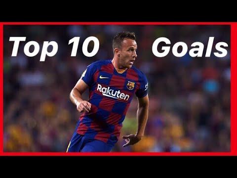 Download Arthur Melo TOP 10 goals | best goals🔥