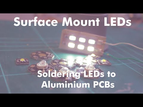 How To Solder LEDs To Aluminium Star PCBs