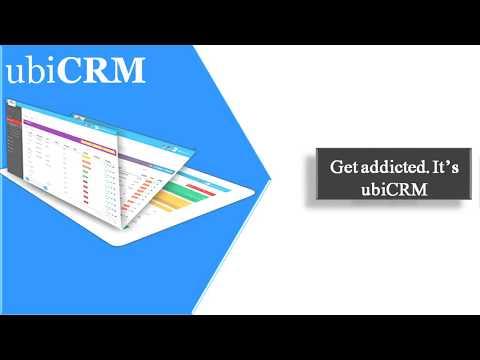 UbiCRM - Customer Relationship Management(CRM) software