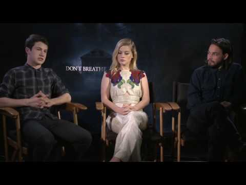Don't Breathe: Daniel Zovatto, Jane Levy, Dylan Minnette Official Interview