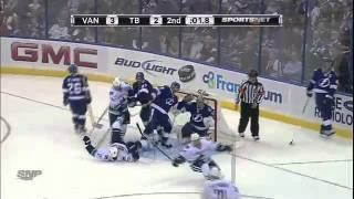 Vancouver Canucks vs Tampa Bay Lightning Game Highlights January 10th 2012
