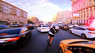 "TRACK BIKES IN MOSCOW aka (RoughCut: ""Hotline—Anton"")"
